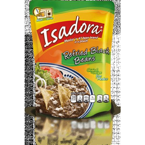 Isadora Black Refried Beans 32x400g Case