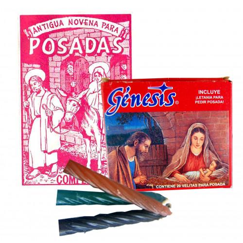 Letanias and candles for Posadas