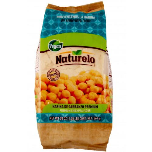 Naturelo Premium Chickpea Flour 567g