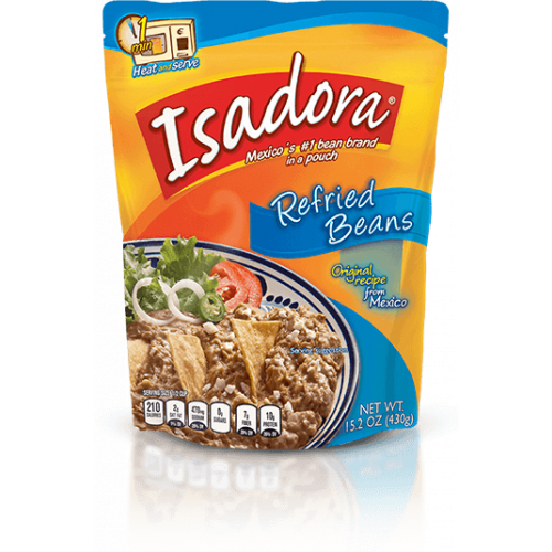 Isadora Pinto Refried Beans 32x400g Case
