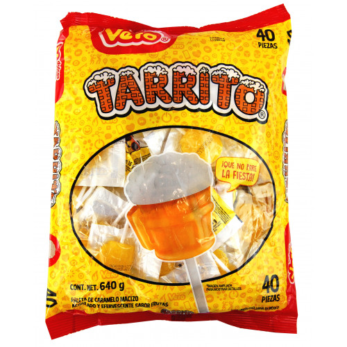 Tarrito Beer Lollipop 24 x 40 Case