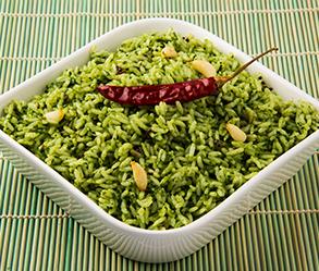 arroz verde
